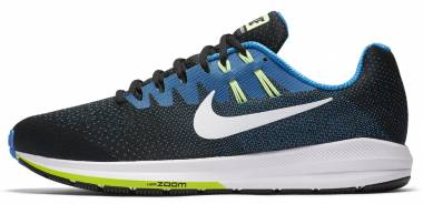 Nike Air Zoom Structure 20 - Black/White/Photo Blue/Ghost Green