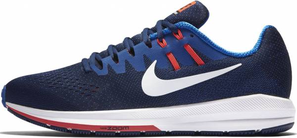 best service bfe1c 1473e Nike Air Zoom Structure 20 Blue
