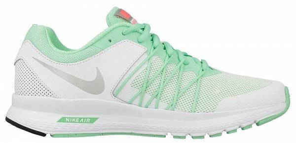 Nike Air Relentless 6 woman green glow/metallic silver-bright mango