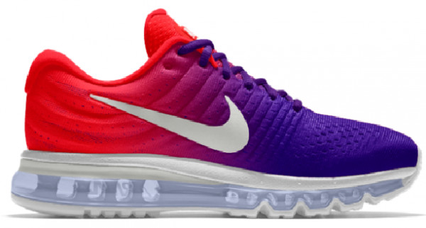 Nike Air Max 2017 Women's Running Shoe. Nike ID