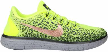 Nike Free RN Distance Shield - Volt (849660700)