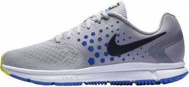 Nike Air Zoom Span - Grau Wolf Grey Black Hyper Cobalt (852437006)