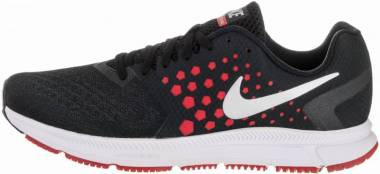 Nike Air Zoom Span - Black/Metallic Silver-University Red-Dark Grey (852437003)