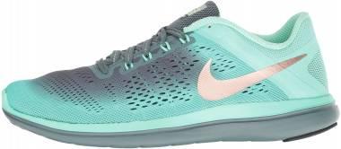 Nike Flex 2016 RN Shield - Green Glow