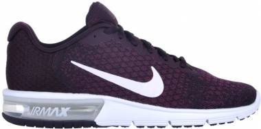 Nike Air Max Sequent 2 - port white bordeaux white 601 (852461601)