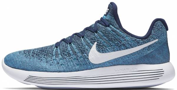 Nike Lunarepic Low Flyknit 2 Women's Running Shoes White