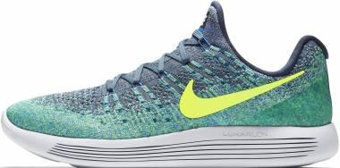 Nike LunarEpic Low Flyknit 2 - Thunder Blue Volt Work Blue