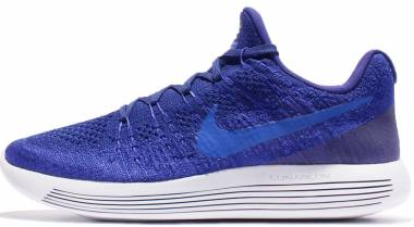 Nike LunarEpic Low Flyknit 2 College Navy / Black / Concord Men