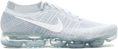 Nike Air VaporMax Flyknit - PURE PLATINUM/WHITE-WOLF GREY (849558004)