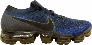 Nike Air VaporMax Flyknit black/gridiron/pink blast/black Men