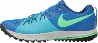 Nike Air Zoom Wildhorse 4 - Blue Soar Chlorine Blue Deep Royal Blue Electro Green (880565400)