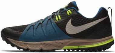 Nike Air Zoom Wildhorse 4 - Multicolore (Black/Desert Sand/Blue Force 004)