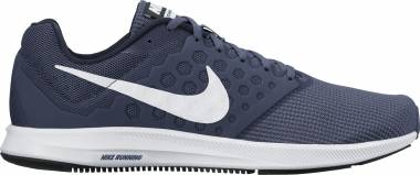 quality design 507a2 d8dc2 Nike Downshifter 7 Blau (Midnight Navy White Dark Obsidian Black 400)