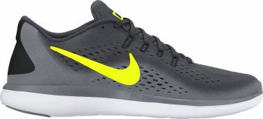 Nike Flex RN 2017 - Multicolore Anthracite Volt Cool Grey Black