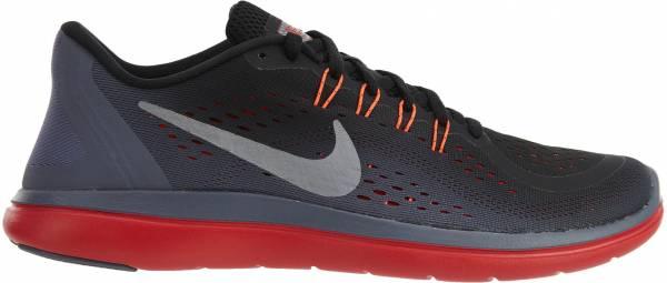 Nike Flex RN 2017 - Multicolore Black Mtlc Cool Grey Light Carbon 012