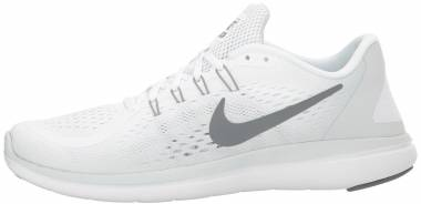 Nike Flex RN 2017 Mehrfarbig (White/Cool Grey/Pure Platinum) Men