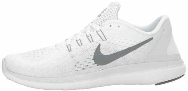 outlet store 33c01 c63a1 Nike Flex RN 2017 Mehrfarbig (White Cool Grey Pure Platinum)
