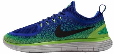 Nike Free RN Distance 2 - Blue Paramount Blue Black Electro Green (863775400)