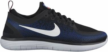 Nike Free RN Distance 2 - Black Black Deep Royal Blue Hot Punch White (863775009)