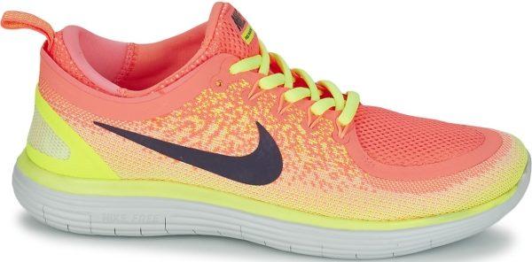 Nike Free RN Distance 2 - Multicolor Lava Glow Dark Raisin Barely Volt Volt Sun L