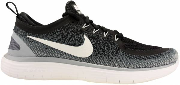 super cute 64785 e4ff4 Nike Free RN Distance 2 Black   White   Cool Grey   Dark Grey