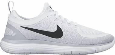 Nike Free RN Distance 2 - White/Black-pure Platinum (863775100)