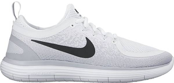 cfaa8632630e Nike Free RN Distance 2 Multicolore (White Black-pure Platinum-wolf Grey