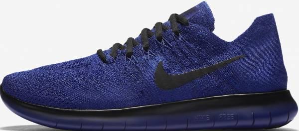 Nike Free RN Flyknit 2017 - Navy/Blue (332698583)