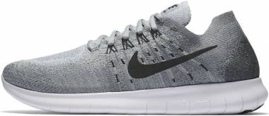 Nike Free RN Flyknit 2017 Wolf Grey/Black-anthracite-cool Grey Men
