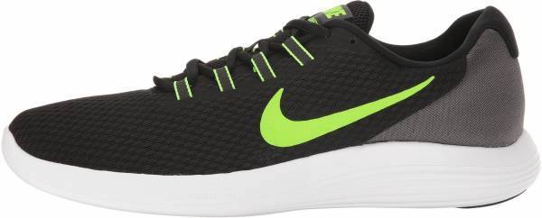 huge discount e8704 07773 Nike LunarConverge BlackElectric GreenAnthraciteWhite