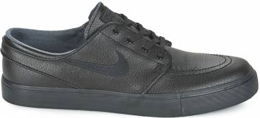 sale retailer 68379 3aadc Nike SB Zoom Stefan Janoski Leather BLACK BLACK-BLACK-ANTHRACITE Men