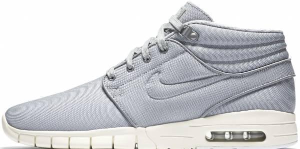 Nike SB Stefan Janoski Max Mid - Wolf Grey/Wolf Grey-cool Grey