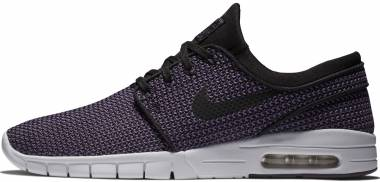 Nike SB Stefan Janoski Max - Black Black Pro Purple White