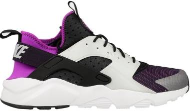 7e115d9c Nike Air Huarache Ultra Black/Wolf Grey/Hyper Volt/Purple Men