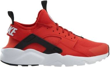 4048220427f0 Nike Air Huarache Ultra Habanero Red White-White-Black Men