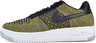 Nike Air Force 1 Flyknit Low - Black/Blue Tint/Game Royal/Black
