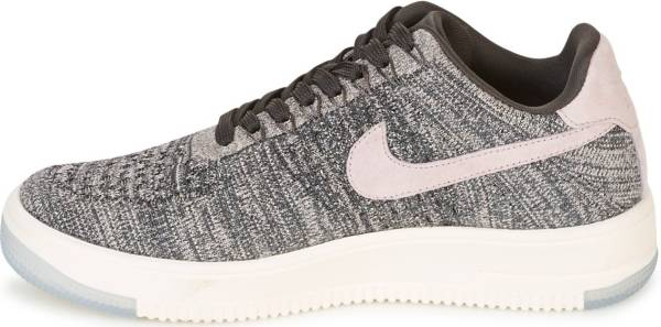 nike air force 1 flyknit low dames zwart