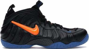 Nike Air Foamposite Pro - Black / Total Orange-battle Blue (624041010)