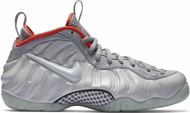 Nike Air Foamposite Pro Silver Men