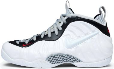 Nike Air Foamposite Pro - White White Black University Red