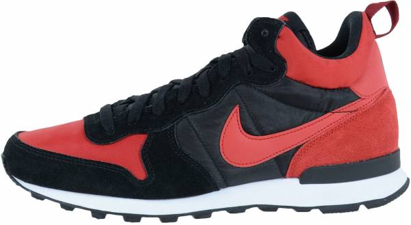 siete y media Hermano Temeridad  Nike Internationalist Mid sneakers in black + blue (only $60) | RunRepeat