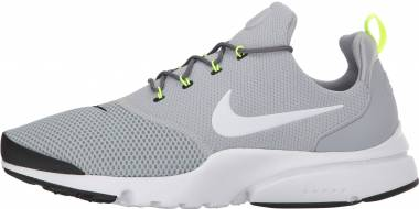 Nike Air Presto Fly Wolf Grey White Men