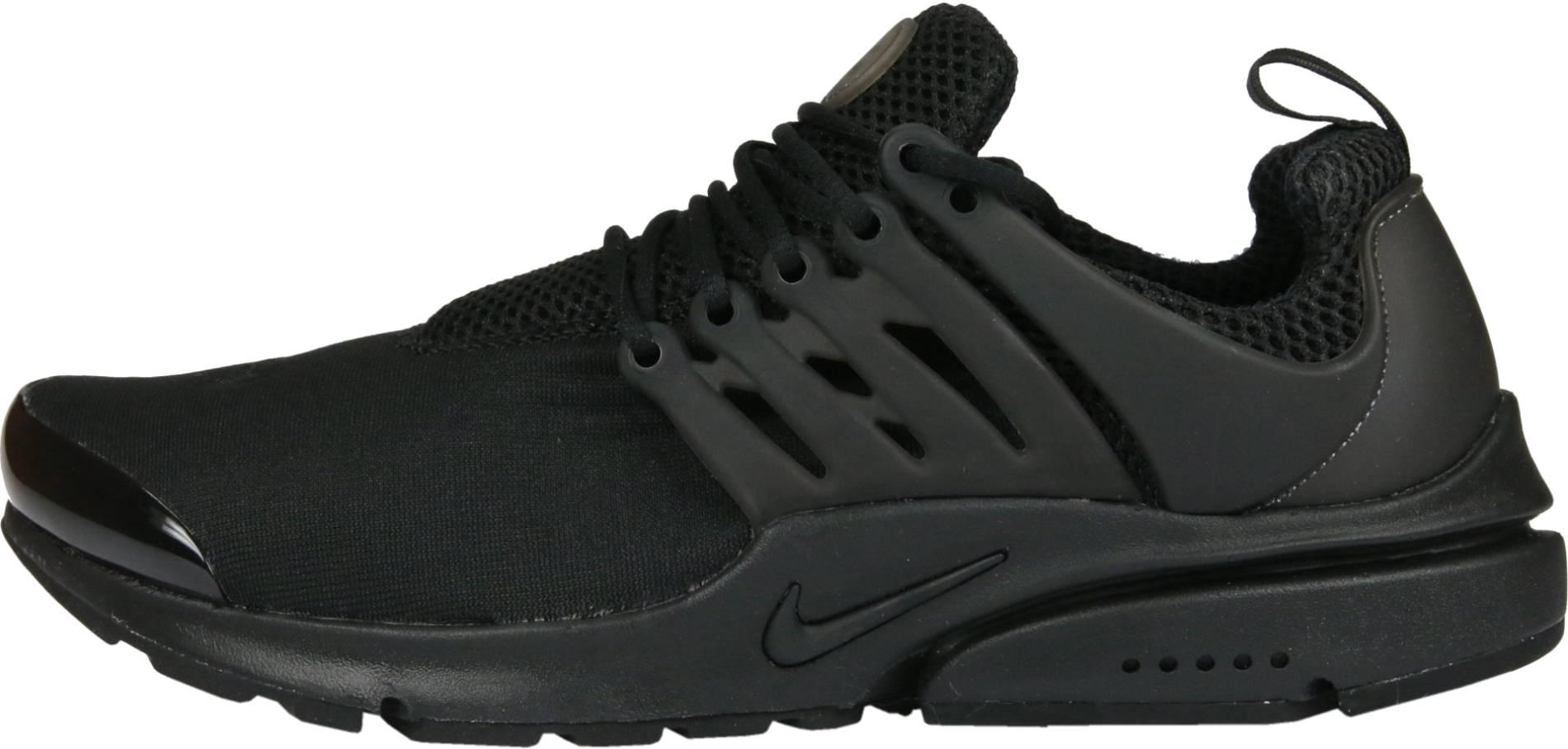Jane Austen seco Comida sana  Nike Air Presto sneakers in black | RunRepeat