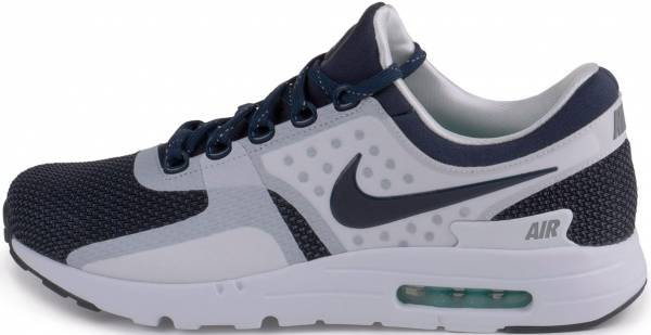 competitive price 9df69 035de Nike Air Max Zero QS Blanco   Azul (White   Mid Navy-rftbl-