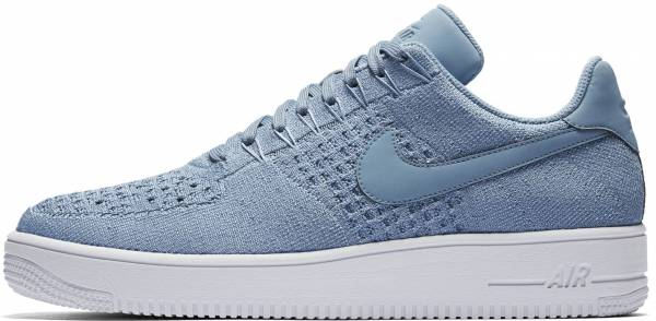 Nike Air Force 1 Flyknit Low - Blue (817419402)
