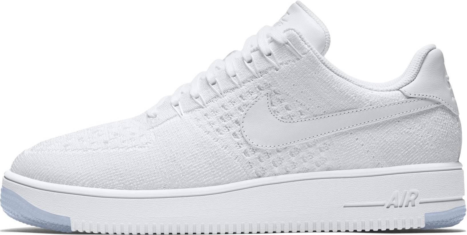 loseta agudo Búsqueda  Nike Air Force 1 Ultra Flyknit Low sneakers in black + white (only $93)    RunRepeat