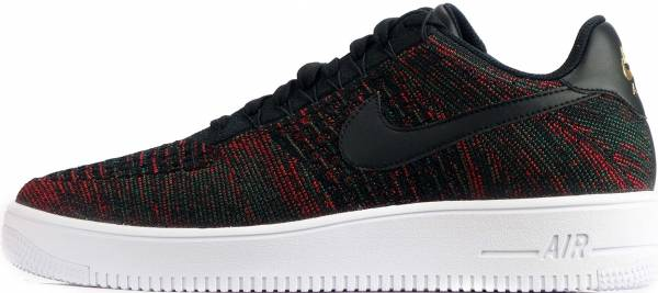 Nike Air Force 1 Ultra Flyknit Low - Black/Metallic Gold/White/Black