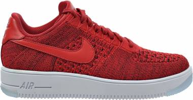 sports shoes bf9fa a9c0e Nike Air Force 1 Ultra Flyknit Low University Red White Men
