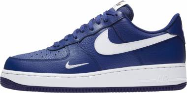Nike Air Force 1 Low - Blau Deep Royal Blue White White (820266406)