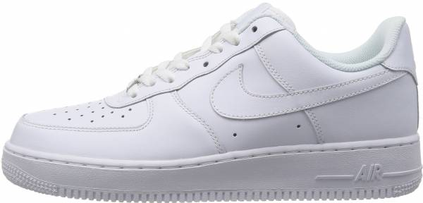 air force 1 low blanche et rouge